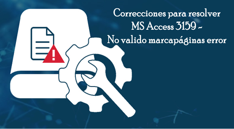 MS Access 3159 - No valido marcapáginas error