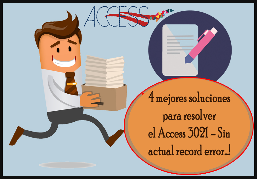 Access 3021 - Sin actual record error